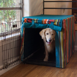 Cabana Dog Crate Cover - WAG Collection