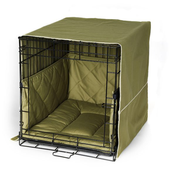 Crate cover and bedding set classic style for Dog kennel clearance