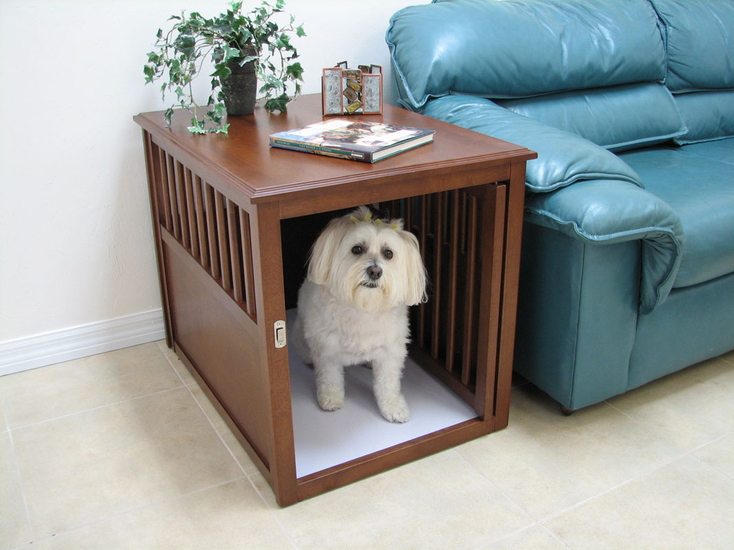 Dog Crate Furniture Stylish Dog Crates Wood Dog Crate