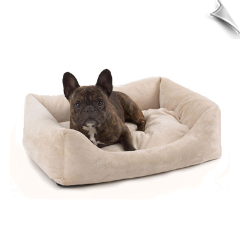Plush Bumper Dog Bed