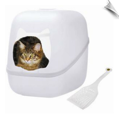 Charlie's Box - Litterbox & Scoop - Ice
