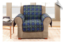 Deluxe Chair Pet Throw & Couch Cover