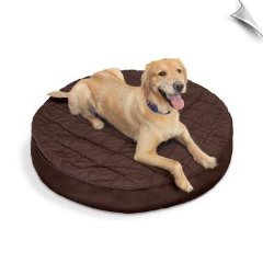 Silver Tails™ Bamboo Charcoal Bed Toppers - Round