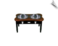 Bowl Feeder Table - Double