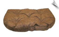 Tufted Hearth Bed - Paisley Microfibers