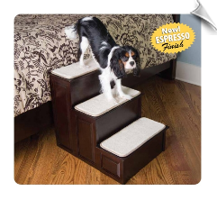 Espresso Decorative Pet Step