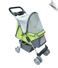 Pet Stroller - Sports XL - Lime Green