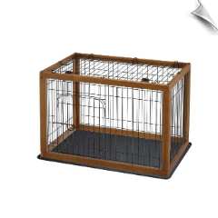 Richell Wood Pet Pen 90-60 Combo 35.4""