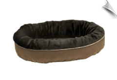 Eco-Friendly Orbit Bed - Hershey Faux Fur (Cowboy)