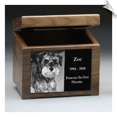 Memory Box & Urn with Plaque