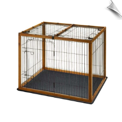Richell Wood Pet Pen 120-90 Combo 47.2""