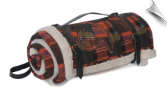 Hugglehounds - Wooly Madras Waterproof Throw