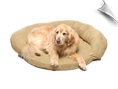 Protector Pad with Bolster Dog Bed