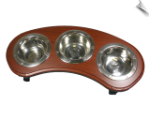 Bowl Feeder Table - Triple