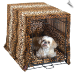 Crate Cover and Bedding Set - Designer Style Leopard