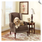 Soft Suede Quilted Recliner Pet Throw