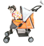 Pet Stroller - Sports XL - Orange