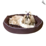 Microfiber Oval Pet Lounge