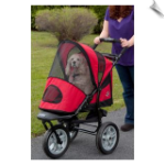 AT3 Generation 2 All-Terrain Pet Stroller- 60 lb Capacity