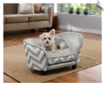 Ultra Plush Snuggle Pet Bed - Chevron