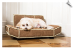 Chestnut Shearling Bauhaus Pet Bed
