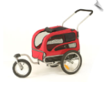 Jogging/Stroller Kit for Medium Track'r HoundAbout Bicycle Trailer