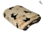 Plush Embossed Pet Throw