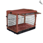 The Other Door™ Steel Crate - Brick - 36.5""