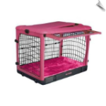 The Other Door™ Steel Crate - Pink 27""