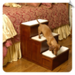 Warm Cherry Decorative Pet Step
