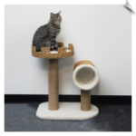 Pet Pals Cat Platform & Tunnel