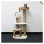 Cat Castle with Tunnel and Condo