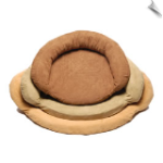 Protector Pad with Bolster Dog Bed & Memory Foam Insert