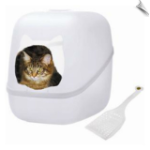 Charlie's Box - Litterbox & Scoop - Ice-DISCONTINUED