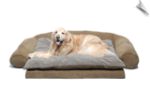 Ortho Sleeper Comfort Couch w/Removable Cushion
