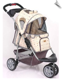 1st Class Luxury Pattern Jogger Pet Stroller