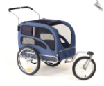 Jogging/Stroller Kit for Large Track'r HoundAbout Bicycle Trailer